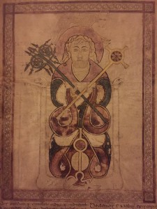 Portrait of St Luke, St Chad Gospels